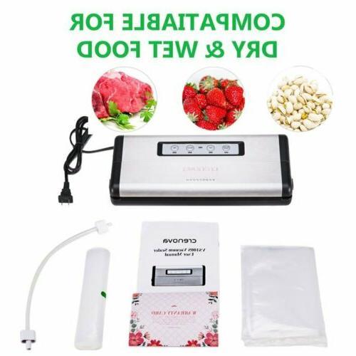 vacuum sealer sealing system dry wet food