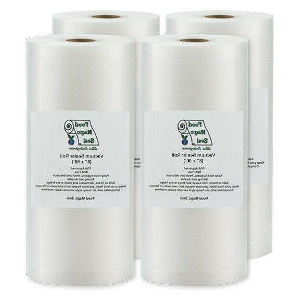 vacuum sealer storage bags 4 8 x50
