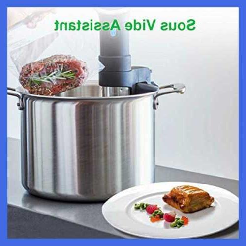 Crenova VS100S Vacuum Food Machine 1 10 Pcs Bags