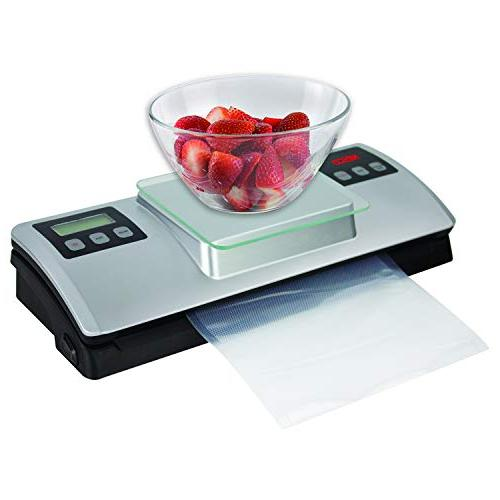 Nesco VSS-01 Vacuum Sealer with Digital Scale Kit,