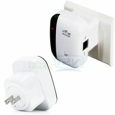 300Mbps Wifi 802.11 AP Router Extender Signal Range
