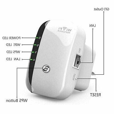 300 Repeater Wireless Router Range