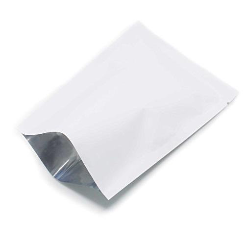 white green open aluminum foil