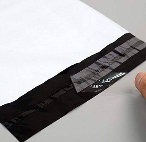 Hakazhi 20Pcs White Self-Seal Storage Mailing Bags