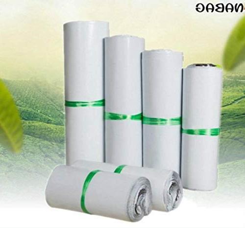 Hakazhi 20Pcs White Self-Seal Bags Storage Bags Poly Envelope Postal Shipping