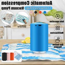 Mini Automatic Compression Vacuum Sealer Electric Air Pump+