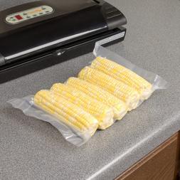 100 FoodVacBags Vacuum Sealer Bags - Pre-Cut Food Storage Ba