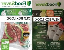 "FoodSaver 8"" & 11"" Multi-Pack Vacuum Sealing Rolls"