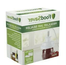 New/Never Opened  FoodSaver Regular Mouth Mason Jar Sealer -