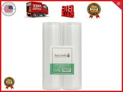 Nutri-Lock Vacuum Sealer Bags. 2 Rolls 11x50. Commercial Gra