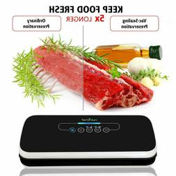 NutriChef Vacuum Sealer Automatic Food Bags Kitchen Air Seal