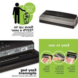 Nutrifresh Vacuum Sealer Machine With Bpa Free Food Sealing