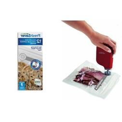 oodSaver FSFRSH0053 FreshSaver Handheld Vacuum Sealing Syste