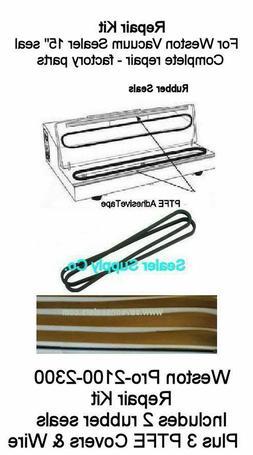 Weston Repair Kit Pro-2300 Seals Teflons + wire also Cabella