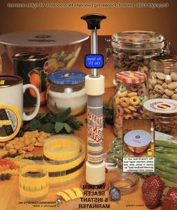 Pump-N-Seal Package #1 - Food Vacuum Sealing System/Pump
