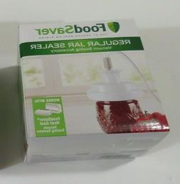 Foodsaver Regular Mouth Mason Jar Sealer Accessory No Hose I