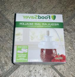 FoodSaver Regular Mouth Mason Jar Sealer New Sealed *SHIPS T