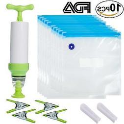 reusable sous vide bag kit for anova