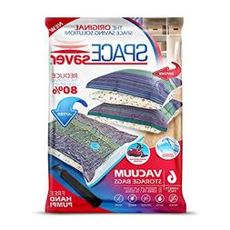 Spacesaver Premium Vacuum Storage Bags 6 Pack  Space Saver B