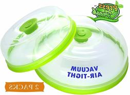 Stackable Vacuum Air-tight Food Sealer Container Plate Platt