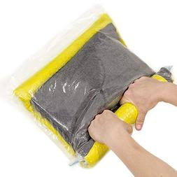TeroHouse 10 Travel Storage Bags For Clothes Space Saver Pac