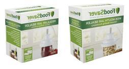 FoodSaver T03-0006-02P Regular Mouth Jar Sealer and Wide Mou