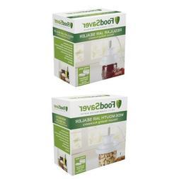 FoodSaver T03-0006-02P Regular-Mouth Jar Sealer and Wide-Mou