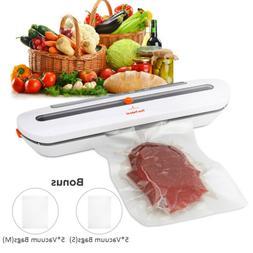 Ten-Tatent Food Vacuum Sealer System Storage Bags Kitchen Se