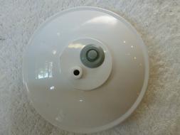 "Used Food Saver 5 1/2"" diameter seal Round Vacuum Sealer Can"