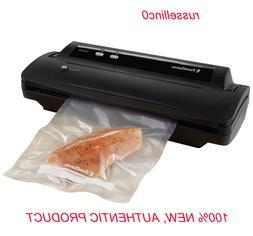 Foodsaver V2244 BLACK Machine for Food Preservation with Bag