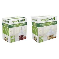 FoodSaver V3880 Vacuum Sealer Wide Mouth, Regular Jar Sealer