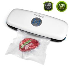 Crenova V60 Plus Vacuum Sealer, 3-in-1 Automatic Food Sealer