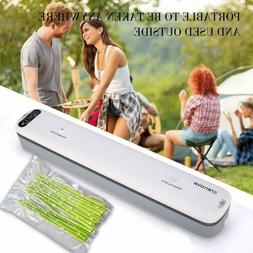 Crenova V62 Vacuum Sealer Food Savers Machine +10 pcs Vacuum
