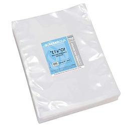"Vacuum Chamber Pouches Size 10"" x 13"" Pack of 250 Pre-Cut He"