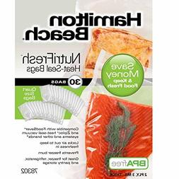 Hamilton Beach NutriFresh Heat Vacuum Sealer, 30 Quart Bags