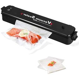 Wuayur Vacuum Sealer,Food Vacuum Packing Machine with Vacuum