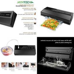 GERYON Vacuum Sealer, Automatic Food Sealer Machine for Save