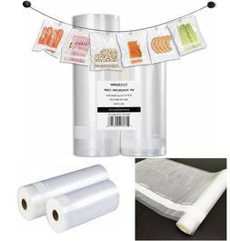 Vacuum Sealer Bags Food Saver Seal Bags Thick set of 2 Rolls