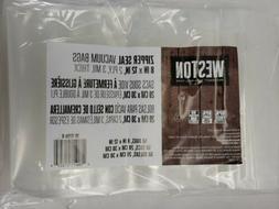 Vacuum Sealer Bags - 11 x 16 Zipper 50 Count Bagged