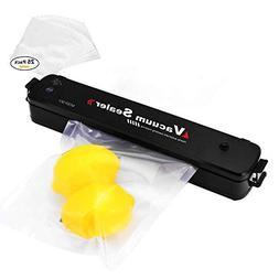 Moer Sky Vacuum Sealer Machine, Automatic Mini Portable Home