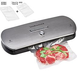 KitchenBoss Vacuum Sealer Machine for Dry & Moist Foods Pres