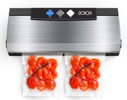 Vacuum Sealer Machine 80Kpa Automatic Food Sealer With Cutte
