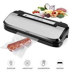 Vacuum Sealer Machine, Upgraded Ymiko Vacuum Sealer Sous Vid