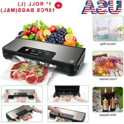 Vacuum Sealer Machine Food Preservation Storage Automatic Se
