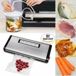 Crenova Vacuum Sealer Machine Seal Meal Food Saver Sealing S