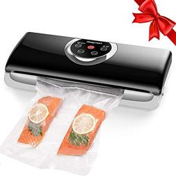 Homgeek Vacuum Sealer Machine, Food Vacuum Sealer with 4 in