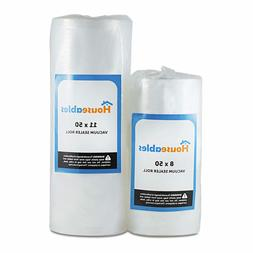 Vacuum Sealer Rolls Sous Vide Heat Seal Food Bags 2 Large 11