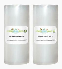 Vacuum Sealers Unlimited - 8 x 50 Rolls - Thicker, Heavy-Dut