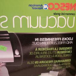 NESCO VS-02, Food Vacuum Sealing System with Bag Starter Kit