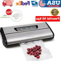 Crenova VS100S Vacuum Sealer 2019 Saver Machine Home Kitchen